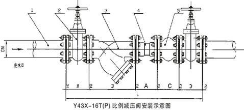 泵站及消防系统比例式减压阀