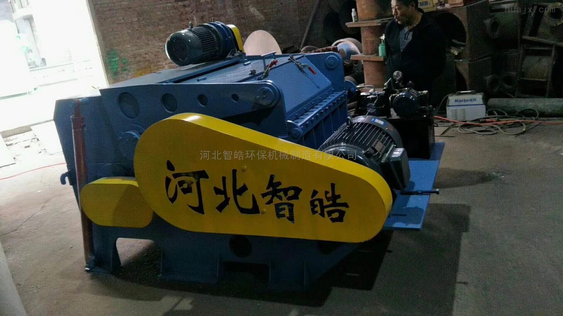 整根塑钢带铁粉碎机解决废料市场拆铁的烦恼