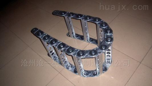 石材机械穿线钢铝拖链