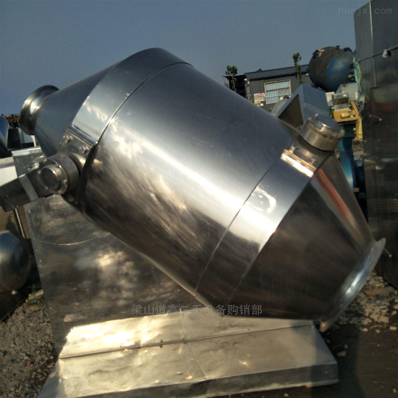 转让二手全不锈钢材质300L三维混合机