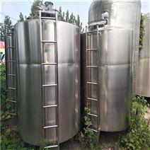 低价供应二手5T不锈钢电加热搅拌罐
