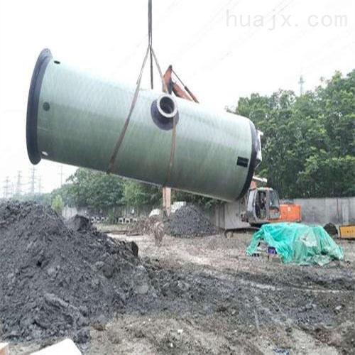 一体化预制泵站 玻璃钢材质 厂家定制