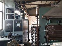 琅特燃气模温机在中山板材热压机上的应用