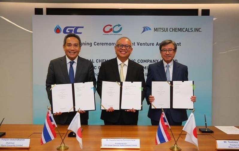 泰国国家石油携手三井化学开展PET和PTA业务