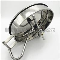卫生级椭圆人孔 350*450不锈钢人孔